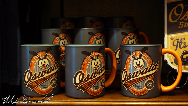 Disneyland Resort, Disney California Adventure, Buena Vista Street, Elias and Company, Oswald, Mug