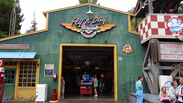 Disneyland Resort, Disney California Adventure, Condor Flats, Fly n buy, Planes
