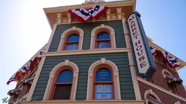 Disneyland Resort, Disneyland, Main Street U.S.A., Market House