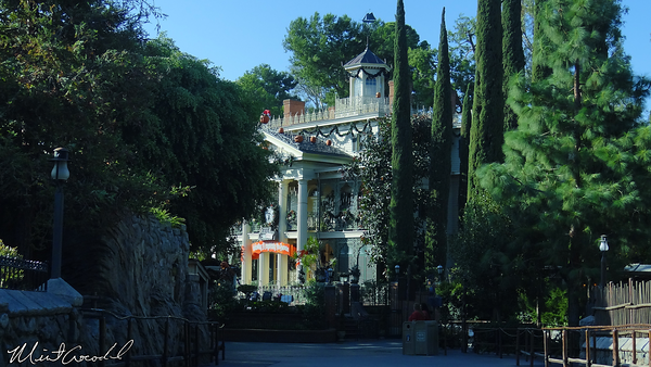 Disneyland Resort, Disneyland, Critter Country, Haunted Mansion