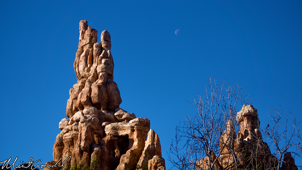 Disneyland Resort, Disneyland, Big, Thunder, Moon