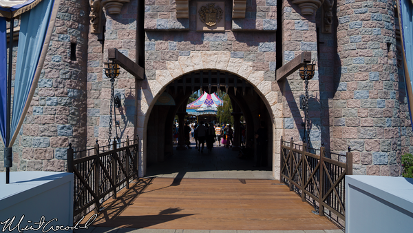 Disneyland Resort, Disneyland, Fantasyland, Sleeping Beauty Castle, Drawbridge, Design, New