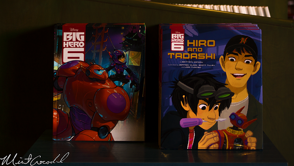 Disneyland Resort, Disney California Adventure, HollywoodLand, Off The Page, Book, Big Hero 6