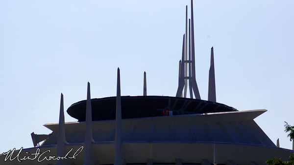 Disneyland Resort, Disneyland, Space Mountain, Safety Rails