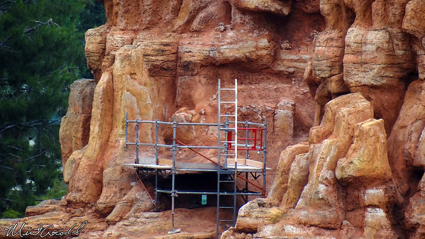 Disneyland Resort, Disneyland, Big Thunder Mountain Railroad, Refurb, Refurbishment