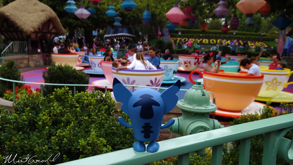 Disneyland Resort, Disneyland, Fantasyland, Tea Cups, Stitch