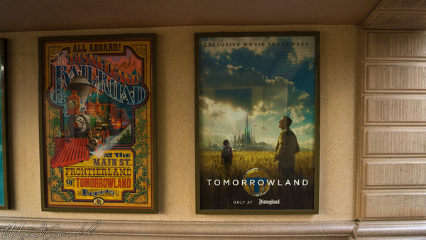 Disneyland Resort, Disneyland60, Disneyland, Main Street U.S.A., Tomorrowland, Movie, Poster