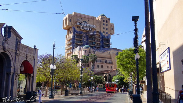 Disneyland Resort, Disney California Adventure, Hollywood Land, Tower of Terror