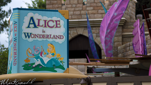 Disneyland Resort, Disneyland, Alice in Wonderland, Vine, Refurbishment, Refurb