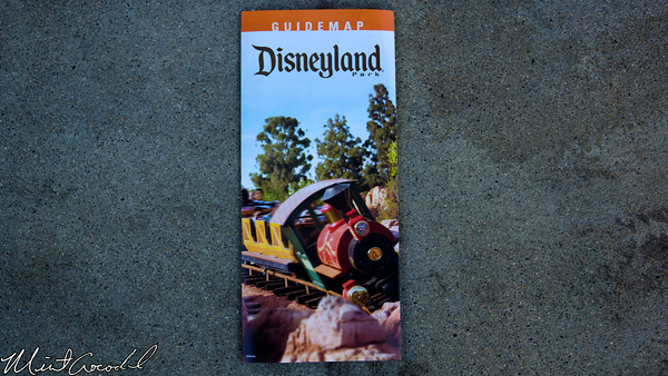 Disneyland Resort, Disneyland, Guide Map