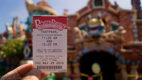 Disneyland Resort, Disneyland, Mickey, Toontown, Toon, Town, Roger, Rabbit, Car, Toon, Spin
