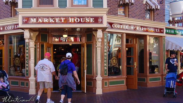 Disneyland Resort, Disneyland, Main Street U.S.A., Market House, Starbucks