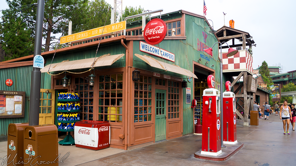 Disneyland Resort, Disneyland60, Disney California Adventure, Grizzly, Peak, Airfield, Humphry's, Coke, Refreshment