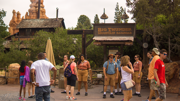 Disneyland Resort, Disneyland60, Disneyland, Frontierland, Big, Thunder, Mountain, Railroad, Closed, Delay, Opening