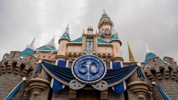 Disneyland Resort, Disneyland60, 60, Anniversary, 24, Hour, Party, Celebration, Kick, Off, Disneyland, Sleeping, Beauty, Castle, Diamond, Bling, Dazzle