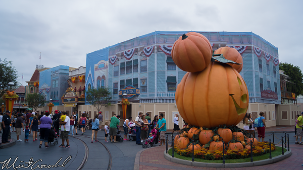 Disneyland Resort, Disneyland, Main Street U.S.A., Halloween Time