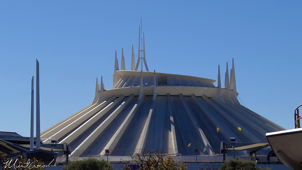 Disneyland Resort, Disneyland, Space Mountain, Safety Rails, Fall Protection