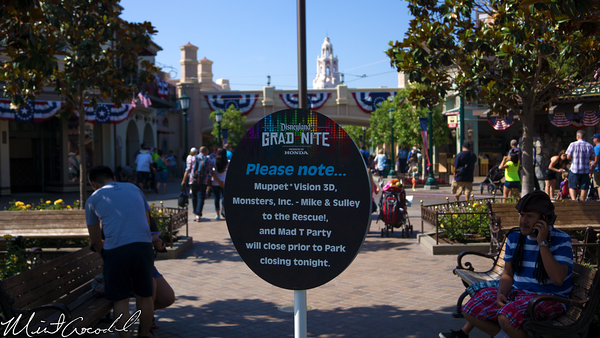 Disneyland Resort, Disney California Adventure, Buena Vista Steet