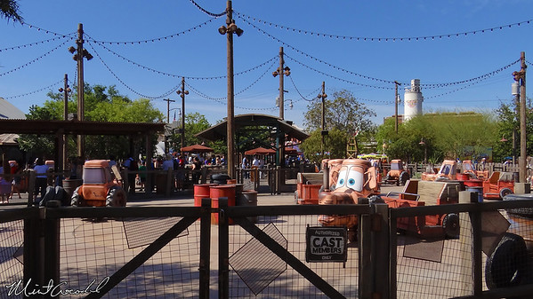 Disneyland Resort, Disney California Adventure, Cars Land, Mater's Junkyard Jamboree