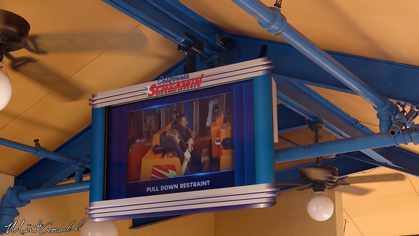 Disneyland Resort, Disney California Adventure, California Screamin', Safety Video