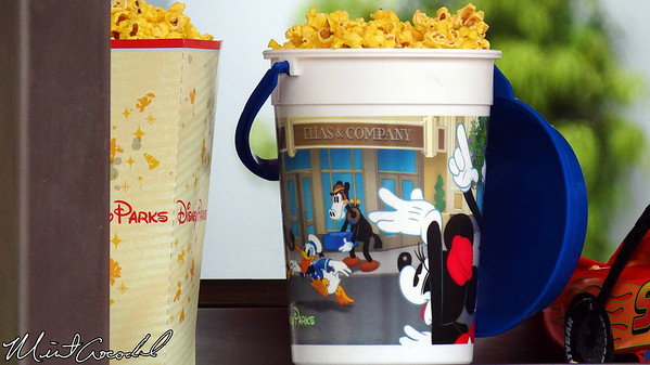 Disney California Adventure, Buena Vista Street, Popcorn Bucket