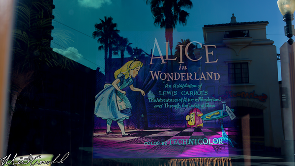 Disneyland Resort, Disney California Adventure, HollywoodLand, Arguile, Building, Alice in Wonderland