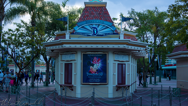 Disneyland Resort, Disneyland60, 60, Anniversary, 24, Hour, Party, Celebration, Kick, Off, Disneyland, Disney California Adventure, Ticket, Booth