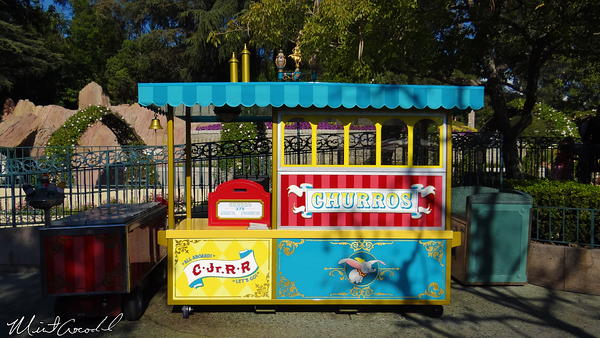 Disneyland Resort, Disneyland, Fantasyland, Dumbo, Casey Jr., New, Themed, Churro Cart