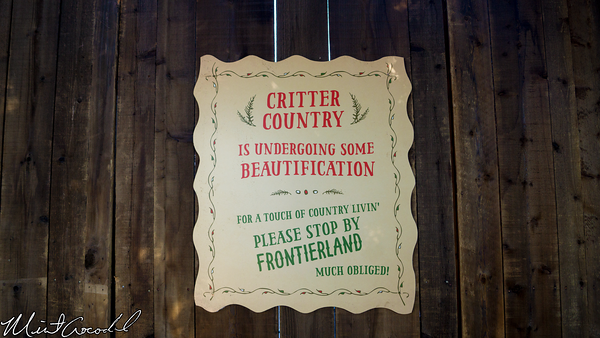 Disneyland Resort, Disneyland, Critter Country, Refurbishment, Refurb, Refurbish