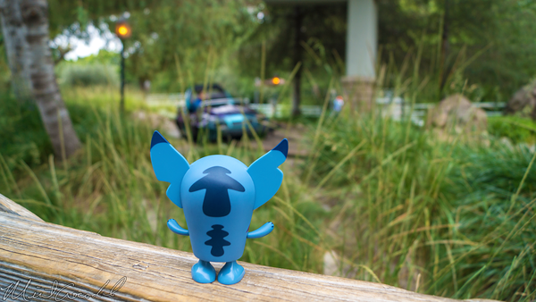 Disneyland Resort, Disneyland60, Disneyland, Autopia, Stitch, Vinylmation