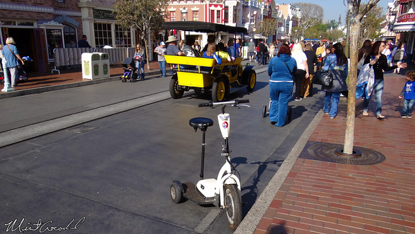 Disneyland Resort, Disneyland, Main Street U.S.A., 3 Wheel, Segway