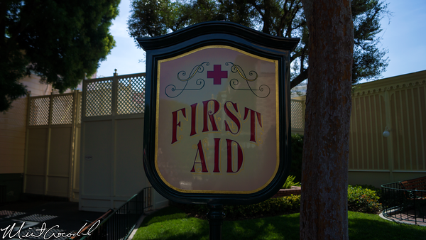 Disneyland Resort, Disneyland, Main Street U.S.A., First Aid