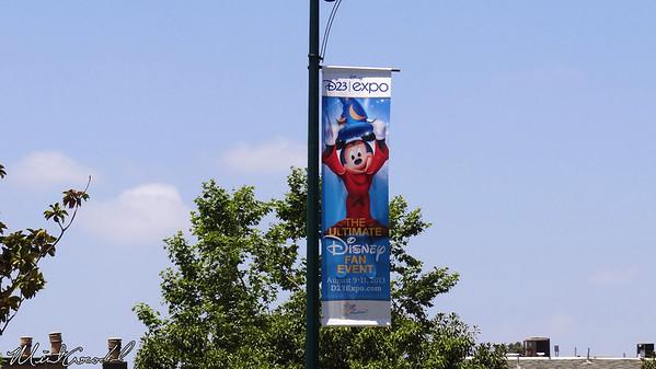 Disneyland Resort, D23 Expo, Banner