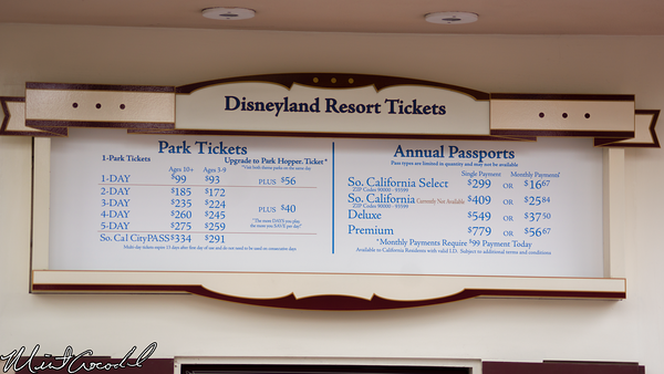 Disneyland Resort, Disneyland, Disney California Adventure, Price, Hike, Increase