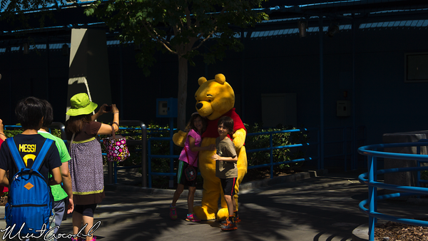 Disneyland Resort, Disney California Adventure, Hollywoodland, Characters, Winnie the Pooh