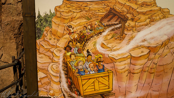 Disneyland Resort, Disneyland60, Disneyland, Frontierland, Big, Thunder, Mountain, Railroad, Photo, Op, Opportunity