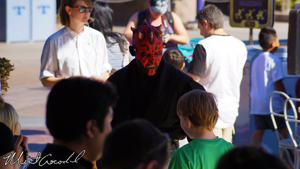 Disneyland Resort, Disneyland, Jedi Training Academy, Darth Vader, Meet and Greet