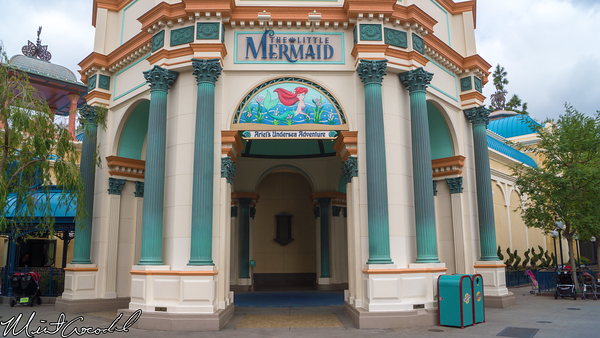 Disneyland Resort, Disney California Adventure, Little Mermaid, Ariel, Undersea, Adventure, New, Entrance