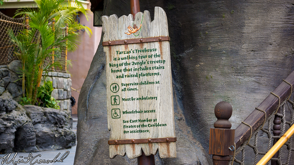 Disneyland Resort, Disneyland, Tarzan Treehouse