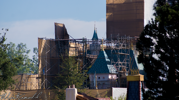 Disneyland Resort, Disneyland, Sleeping Beauty Castle, Refurbishment, Refurbish, Refurb, Tarp, Scrim, Concept, Herb, Ryan, Disneyland60, Mark, Twain