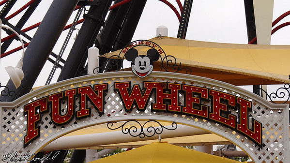 Disneyland Resort, Disney California Adventure, Mickey's Fun Wheel