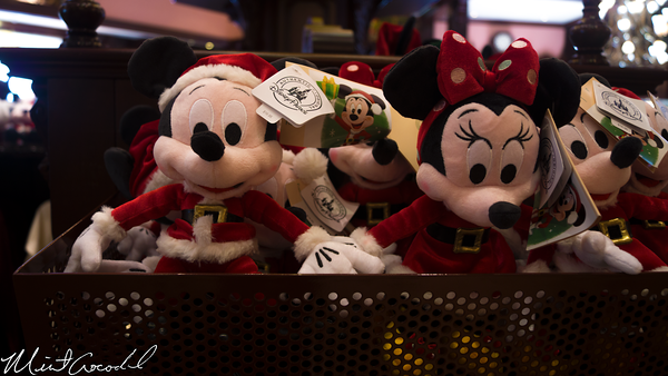 Disneyland Resort, Disneyland, Main Street U.S.A., Emporium, Christmas, Retro, Vintage, Plush, Mickey, Minnie
