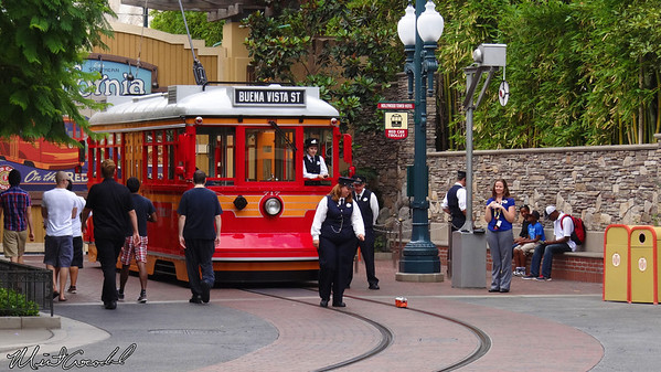 Disneyland Resort, Disney California Adventure, Hollywoodland, Red Car Trolley