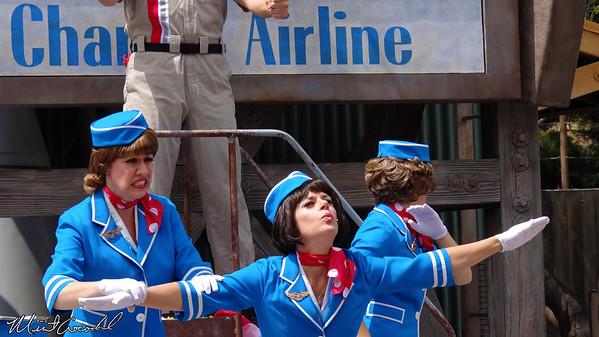Disneyland Resort, Disney California Adventure, Minnie's Fly Girls Charter Airlines