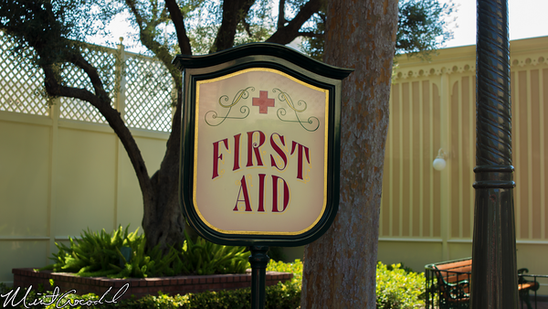 Disneyland Resort, Disneyland, Main Street U.S.A., First Aid, Wish Lounge