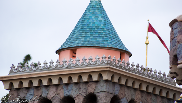 Disneyland Resort, Disneyland, Sleeping, Beauty, Castle, New, Paint, Disneyland60