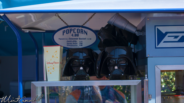Disneyland Resort, Disneyland, Darth Vader, Popcorn, Bucket