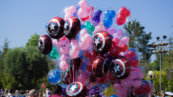 Disneyland Resort, Disneyland, Balloon, Captain America, Winter Soldier