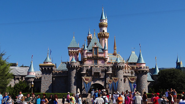 Disneyland, Sleeping Beauty Castle, Missing Conical Spire