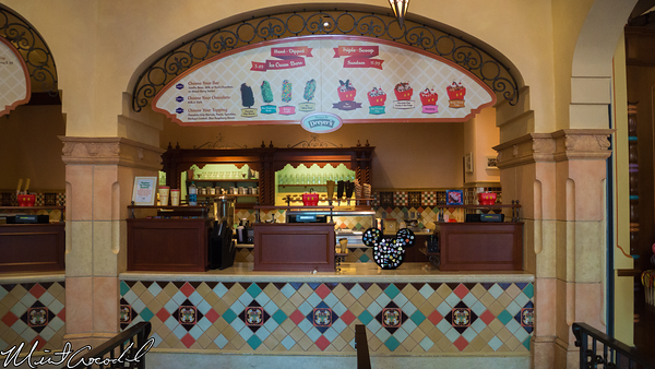 Disneyland Resort, Disney California Adventure, Buena Vista Street, Clarabelle's Ice Cream, Pins